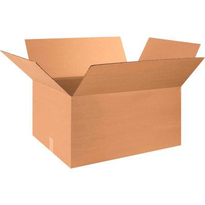 "Cardboard Corrugated Boxes 32"" x 18"" x 12"" 200#/ECT-32 - Pkg Qty 20"