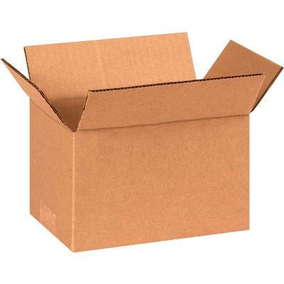 "Cardboard Corrugated Boxes 8"" x 5"" x 4"" 200#/ECT-32 - Pkg Qty 25"