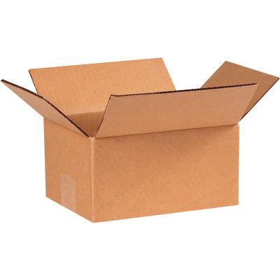 "Cardboard Corrugated Boxes 8"" x 6"" x 4"" 200#/ECT-32 - Pkg Qty 25"