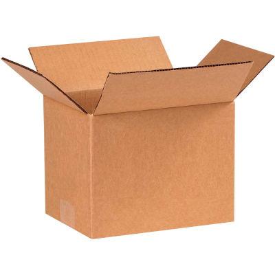 "Cardboard Corrugated Boxes 8"" x 6"" x 6"" 200#/ECT-32 - Pkg Qty 25"