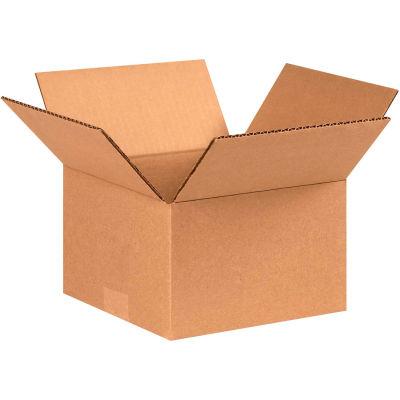 "Cardboard Corrugated Boxes 8"" x 8"" x 5"" 200#/ECT-32 - Pkg Qty 25"