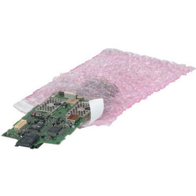 """Anti-Static Bubble Bags 8"""" x 17-1/2"""" 250 Pack"""
