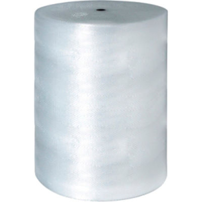 """Perforated Air Bubble Roll, 48""""W x 250'L x 1/2"""" Thick, Clear, 1 Roll"""