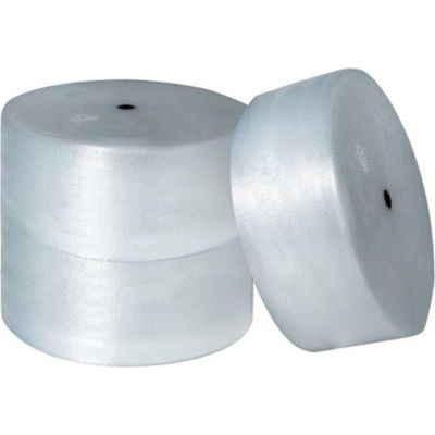 """Air Bubble Rolls 16"""" x 250' x 1/2"""", Non-Perforated, Clear, 3/PACK"""