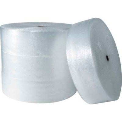 """Air Bubble Rolls 12"""" x 750' x 3/16"""", Non-Perforated, Clear, 4/PACK"""