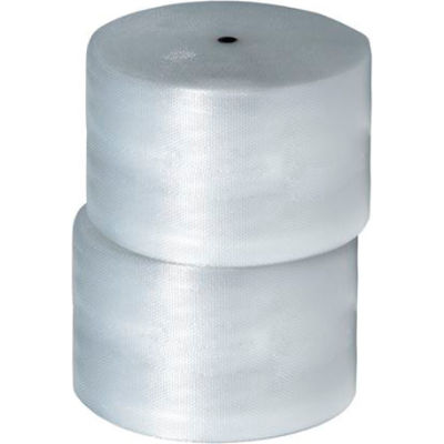 """Air Bubble Rolls 24"""" x 375' x 5/16"""", Non-Perforated, Clear, 2/PACK"""