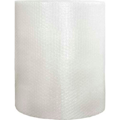 """Heavy Duty Bubble Roll 48"""" x 250' x 1/2"""", Non-Perforated, Clear, 1 Roll"""