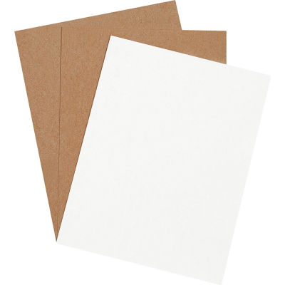 """Chipboard Pads 8-1/2"""" x 11"""" White, 960 Pack"""
