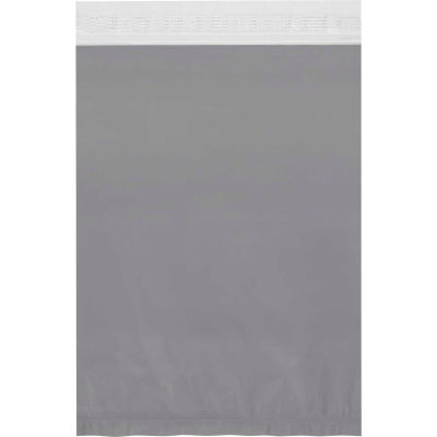 "Clear View Poly Mailers 14-1/2"" x 19"" 2.5 Mil White, 100 Pack"