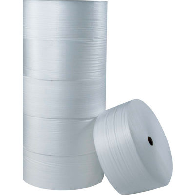 "Air Foam Roll 72""W x 250'L, 1/4"" Thickness, White"