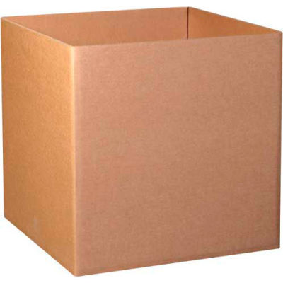 "Triple Wall Gaylord Bottoms 40"" x 40"" x 40"" 1100# TW/ECT-90 Kraft - Pkg Qty 5"