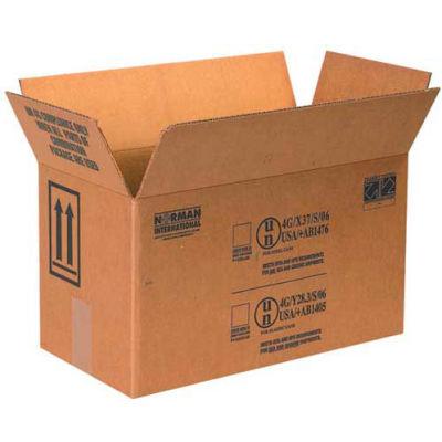 "Two - 1 Gallon Haz Mat Boxes, 17"" x 8-1/2"" x 9-5/16"", 25/Pack"