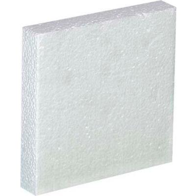 One - 1 Gallon Plastic Jug Foam Insert, 48/Pack
