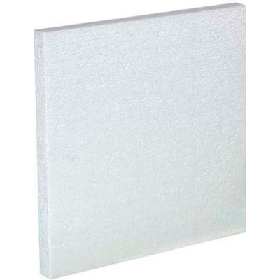 Four - 1 Gallon Plastic Jug Foam Insert, 48/Pack
