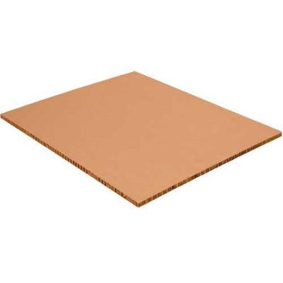 "Honeycomb Pallet Sheets 48"" x 96"" x 1"" Kraft, 40 Pack"