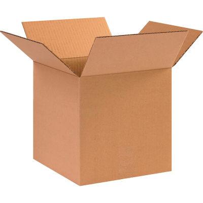 """Heavy-Duty Cardboard Corrugated Boxes 10"""" x 10"""" x 10"""" 275#/ECT-44 - Pkg Qty 25"""