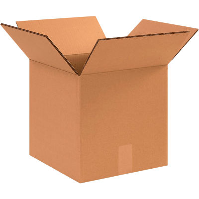 """Heavy-Duty Double Wall Cardboard Corrugated Boxes 12"""" x 12"""" x 12"""" 275#/ECT-48 - Pkg Qty 15"""