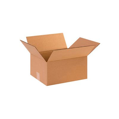 """Heavy-Duty Cardboard Corrugated Boxes 14"""" x 12"""" x 10"""" 275#/ECT-44 - Pkg Qty 25"""