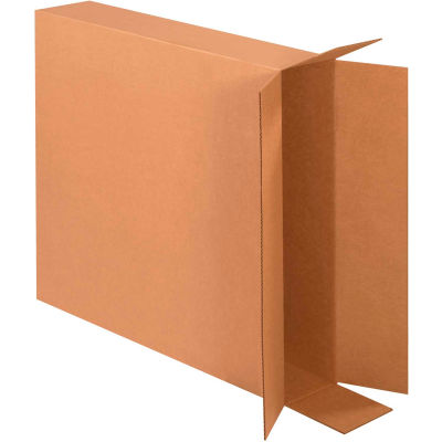 "Side Loading Cardboard Corrugated Boxes 30"" x 6"" x 30"" 275#/ECT-44 - Pkg Qty 10"