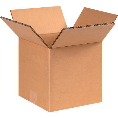 """Heavy-Duty Double Wall Cardboard Corrugated Boxes 8"""" x 8"""" x 8"""" 275#/ECT-48 - Pkg Qty 15"""