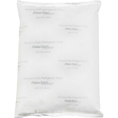 "Tech Pack™ 24 oz. Moisture Safe Cold Packs - 8"" x 6"" x 1-1/4"", 24/Case"