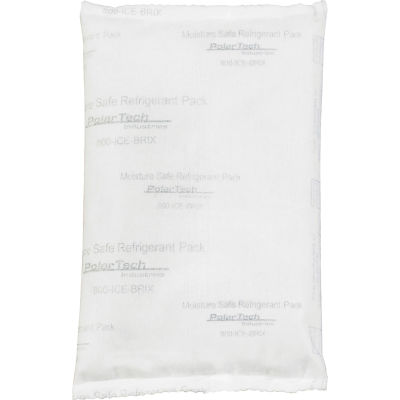 "Tech Pack™ 8 oz. Moisture Safe Cold Packs - 6"" x 4"" x 3/4"", 72/Case"