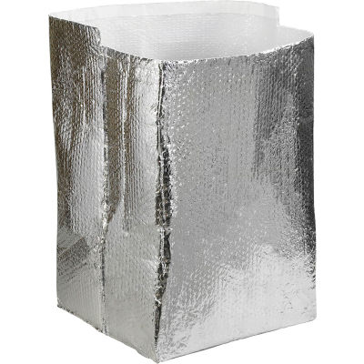 """Cool Shield Insulated Box Liners 16"""" x 16"""" x 16"""", 15 Pack"""