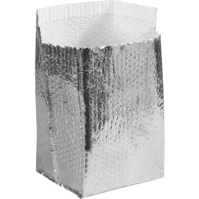 """Cool Shield Insulated Box Liners 8"""" x 8"""" x 8"""", 25 Pack"""