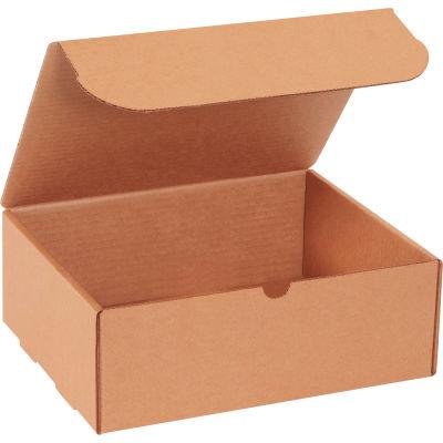 "Corrugated Literature Mailers 11-1/8"" x 8-3/4"" x 4"" 200#/ECT-32 Kraft - Pkg Qty 50"