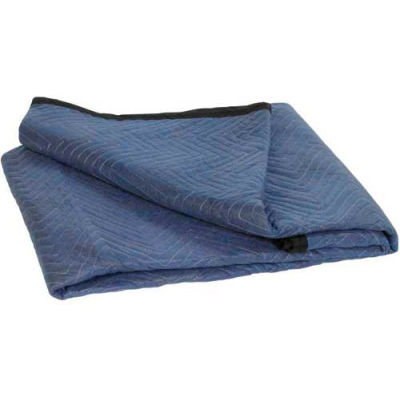 """Economy Moving Blankets 72"""" x 80"""" Blue, 6 Pack"""