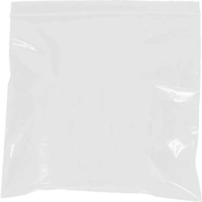 """Reclosable Bags 8"""" x 10"""" 2 Mil White 1000 Pack"""