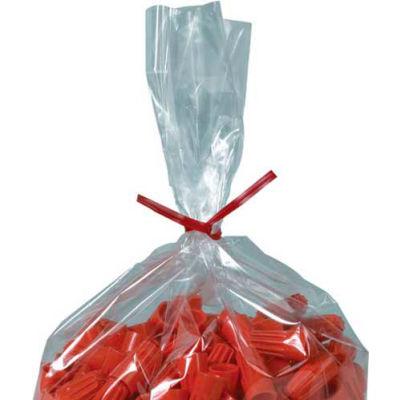 "Plastic Twist Ties 12"" x 5/32"" Red 2000 Pack"
