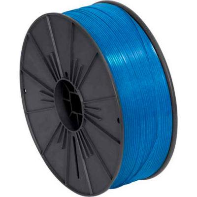 """Plastic Twist Tie Spool 5/32"""" x 7000' Blue"""
