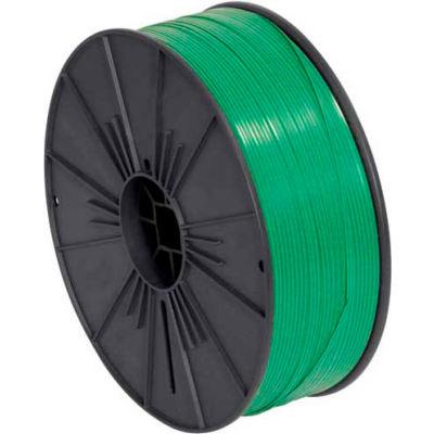 """Plastic Twist Tie Spool 5/32"""" x 7000' Green"""