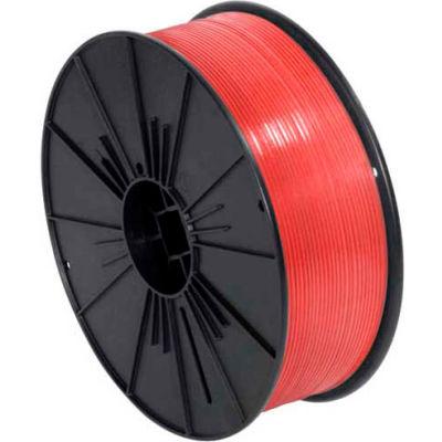 """Plastic Twist Tie Spool 5/32"""" x 7000' Red"""