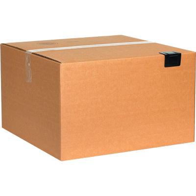 "Plastic Strap Guards 2-1/2"" x 1-3/4"" Black, 1000 Pack"