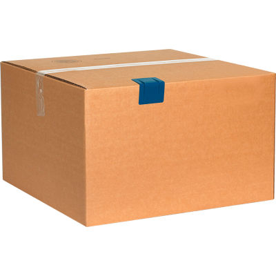 "Plastic Strap Guards 2-1/2"" x 2"" Blue, 1000 Pack"