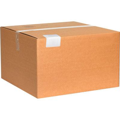 "Plastic Strap Guards 3-1/2"" x 2"" White, 500 Pack"