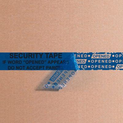 "Tape Logic® Secure Tape 3"" x 60 Yds. 2.5 Mil Blue - 1 Pack"