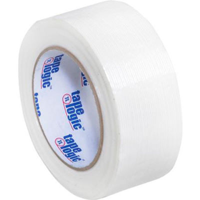 """Tape Logic® #1300 Strapping Tape 2"""" x 60 Yds. 4 Mil Clear - Pkg Qty 12"""