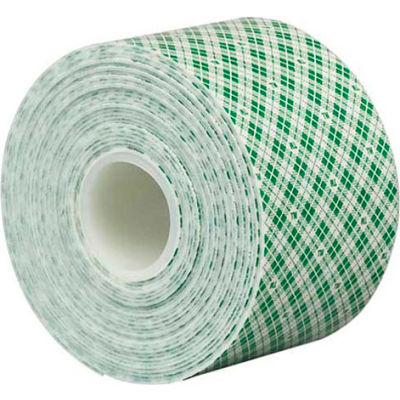 """3M™ 4032 Double Sided Foam Tape 2"""" x 5 Yds. 1/32"""" Thick Natural"""