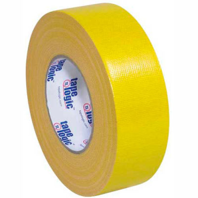 """Tape Logic® Cloth Duct Tape, 2"""" x 60 yds, 10 Mil, Yellow - 3/PACK"""