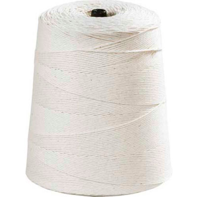 8-Ply Cotton Twine, 20 lb. Tensile Strength, 6300' L