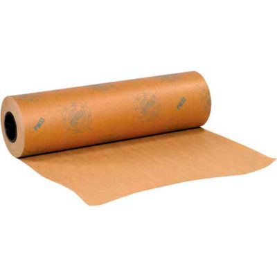 """Waxed VCI Paper, 24"""" x 300 Yds., 35#, 1 Roll"""