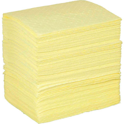 "Brady SPC® BPH200 BASIC Chemical Pads, 15""W x 17""L, Light Weight, Bale/200"