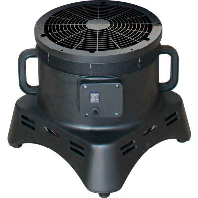 "XPOWER 12"" Diameter Tube Man Inflatable Blower Fan, 1 Speed, 1/3 HP, 2800 CFM"