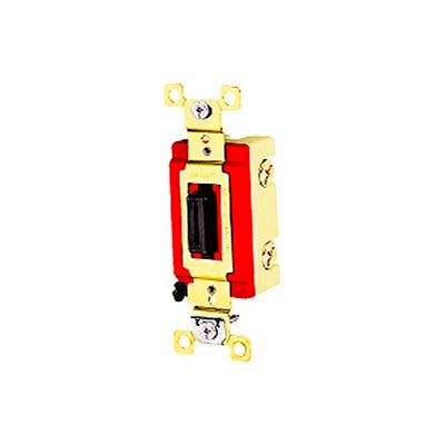 Bryant 4901L Industrial Grade Toggle Switch, Single Pole, 20A, 120/277V AC, Locking