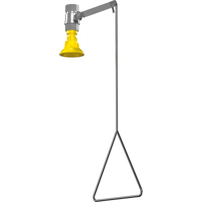 Bradley® Shower, Vertical Supply, Plastic Showerhead, S19-130