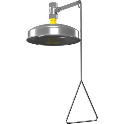 Bradley® Shower, Vertical Supply, Plastic Showerhead w/SS Shroud, S19-130A