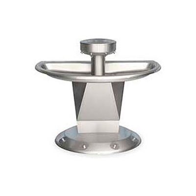 Bradley Corp® Wash Fountain, Semi-Circular,Off-line Vent, Series SN2004, 4 Person